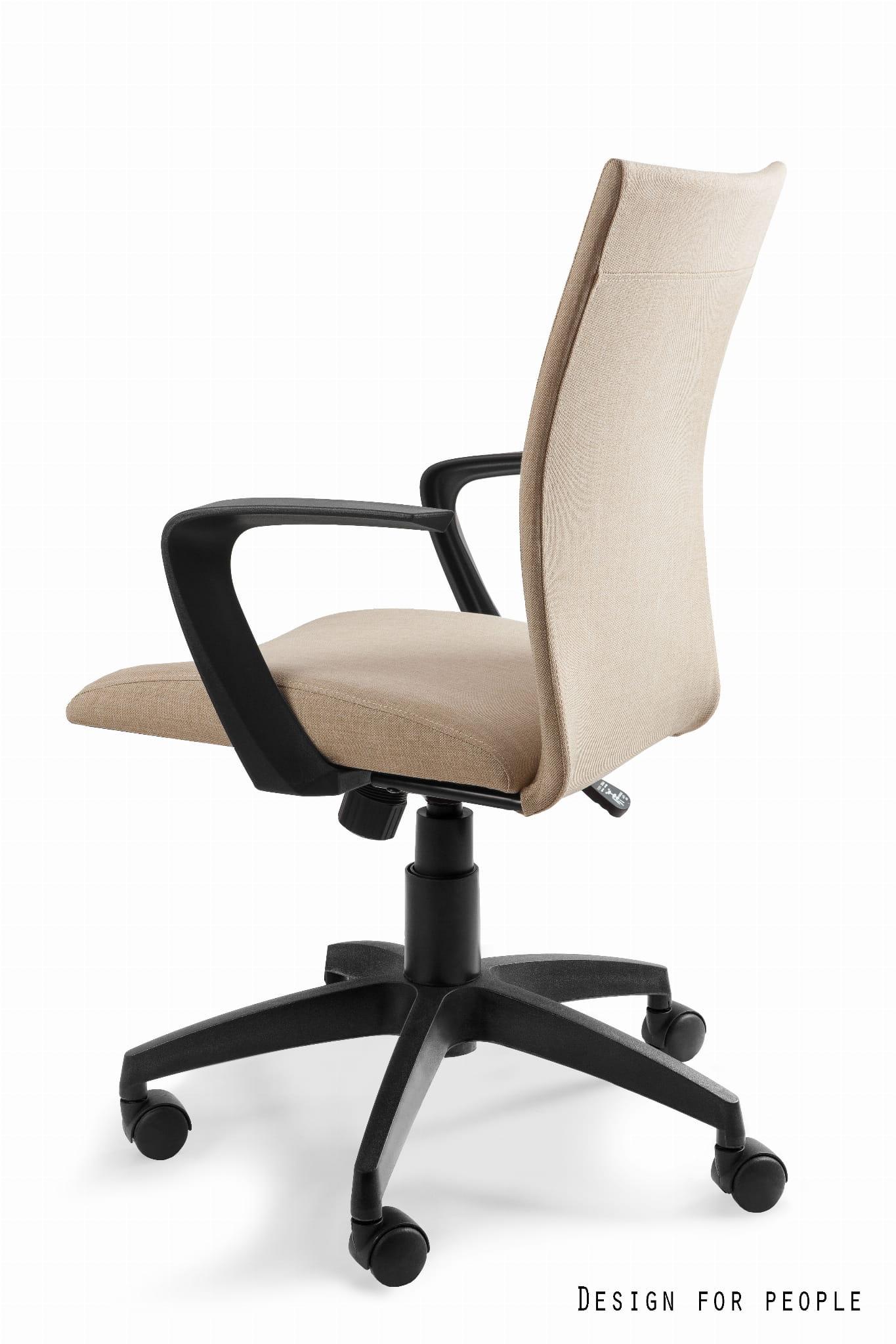 Unique MILLO beżowy fotel biurowy